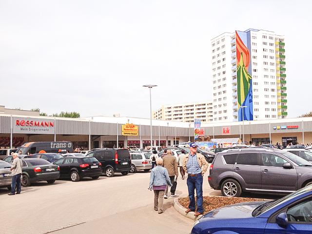 Einkaufszentrum in Thüringen, Verkauf an institutionellen Käufer, 2015