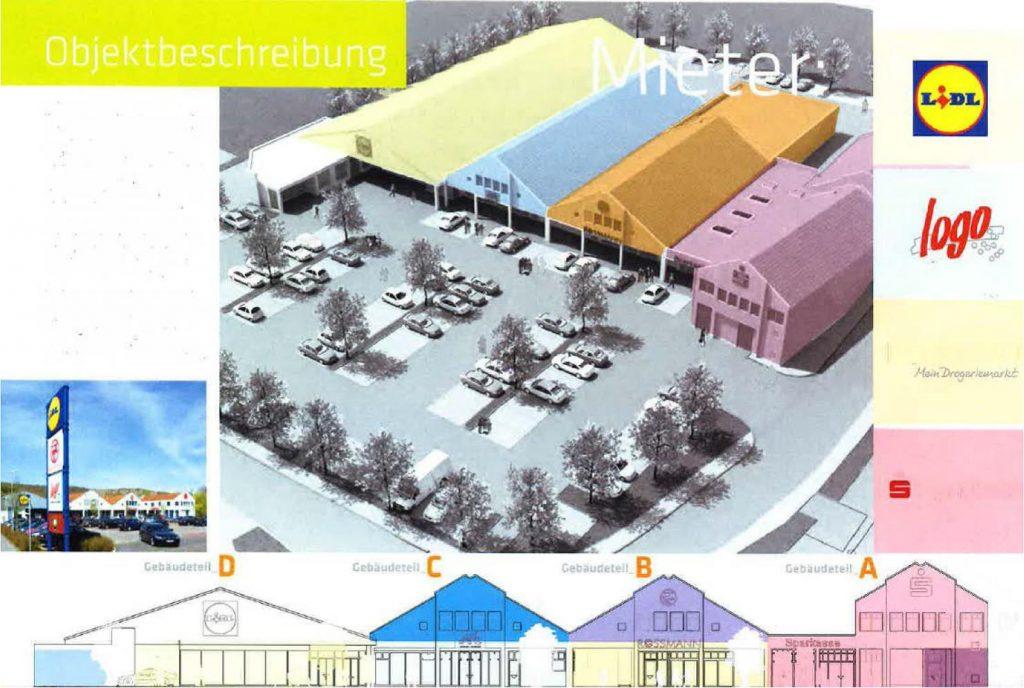 Einkaufszentrum in Nordhessen Verkauf 2017 von Privatperson an Investorengruppe