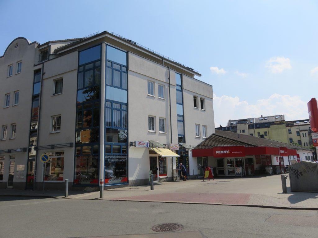 Wohn-/Geschäftshaus mit Penny-Markt in Zwickau Verkauf 2019 von Privatmann an institutionellen Investor