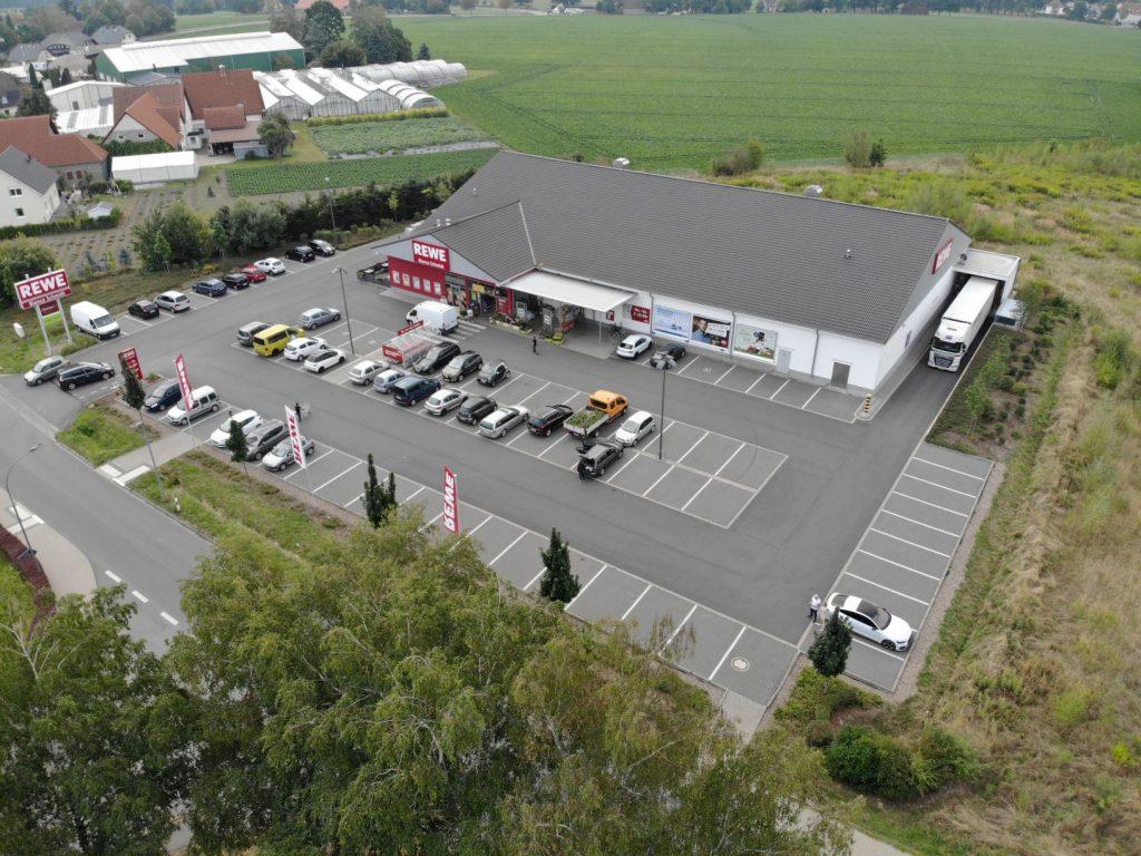 REWE-Markt in Nordrhein-Westfalen Verkauf 2019 von Privatmann an deutsche Fondsgesellschaft