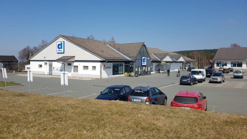 Diska-Markt in Sachsen - Erbbau - Verkauf 2020 von Privatperson an deutsche Fondsgesellschaft